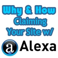 Why and How to Claim Your WebSite With Alexa